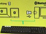 マルチデバイス Bluetooth ワイヤレス キーボード